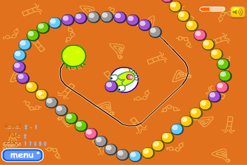 Screenshot ClashN Slash Ball Burst